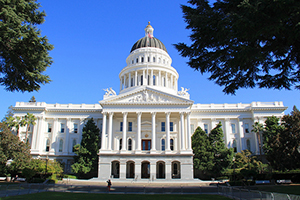Breathe California works in Sacramento, supporting legislation to promote clean air and lung health.